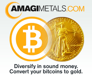 Bitcoins to Gold