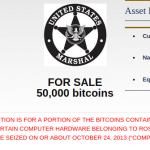 More Stolen Bitcoin to be Auctioned
