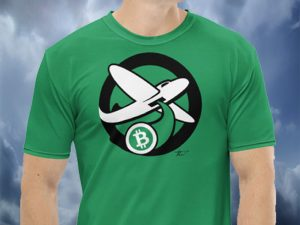 International Green Bitcoin Bomber T-Shirt