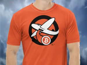 International Orange Bitcoin Bomber T-Shirt