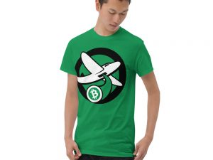 Green Bitcoin Bomber T-Shirt (International)